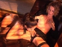 British whore Kelle Marie in a lesbo scene with Zoe