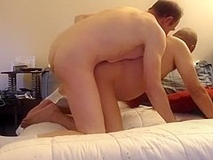 Married guy with big cock came to breed me Part I