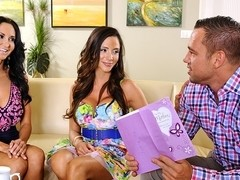 Ariella Ferrera & Ava Addams & Johnny Castle in My Friends Hot Mom