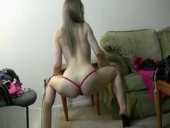 Jessy loves to dance and tease