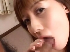 Best Japanese chick Hime Kamiya in Fabulous Couple, Blowjob JAV scene