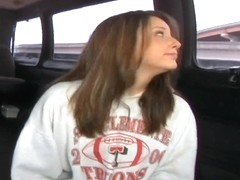 Ashley gets on the bangbus