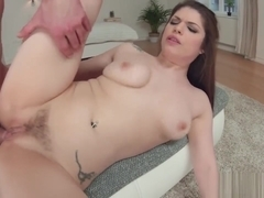 Stunning Lucia Love takes a big dick in her rear