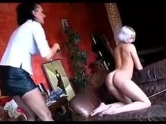 Perfect blonde gets dominated and loves it