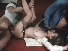 Veronica Hart, Robert Kerman, Mistress Candice in classic porn movie