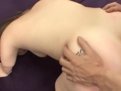 Sexy midget loves hardcore sex and she swallows