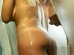 Horny Couple Wash And Have Sex In The Shower
