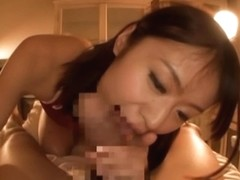 Kaede Niiyama hottie in school uniform gets a hot tit fuck