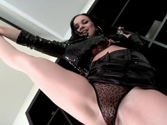 Exotic pornstar Ally Style in horny blowjob, brunette porn movie