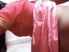 Aunty In A Saree