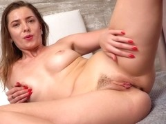 Touch And Tease - Darkhaired Babe Viktoria Vixen Solo