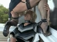 Incredible Homemade Shemale record with Blowjob, Stockings scenes