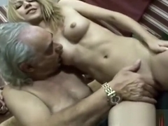 WTF! How can such a hot girl fuck old cripple!