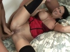 Horny Girlfriend Double Penetrated By Friends - Mandy Bright
