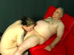 Horny german honey suck and fuck cock