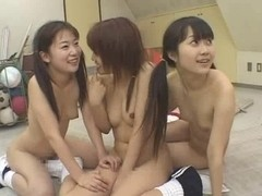 three Japan hotty cumswap & drink game