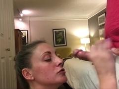 Husband catches lesbian wife slutload
