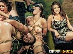 Mena Li Needs More Slut Training with Lexy Villa & Mila Blaze