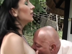 Cknz Old Vs Young-Preggy Outdoor Fuck (720p)