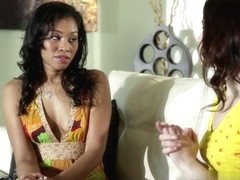 Sarah Shevon,Yasmin Deleon in Lesbian Beauties #14 - Interracial, Scene #02