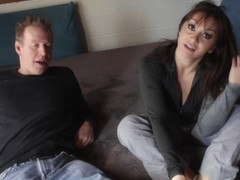 Sexy divorced milf chats with her boss in hd porn movie