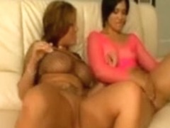 Claire Dames and Rosario Stone vs Rico Powerful