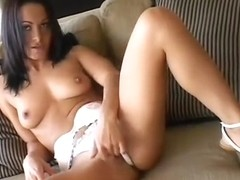 With a hard stick deep in her ass, Sandra Romain succumbs to pleasure