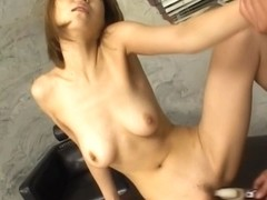 Jun Kusanagi gets her pussy fingered and fucked by a horny guy.