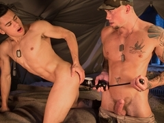 Armond Rizzo & Sean Duran in Enlist Your Fist, Scene #02
