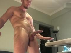 Musclsmoke (Nico Deen) Hot Fleshlight Fuck