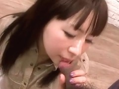 Hitomi Fujihara loves cock and sucks another one