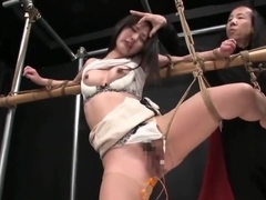 Incredible adult clip Hogtied wild , it's amazing