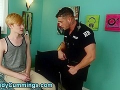 Cody Cummings gets twink cock suck