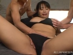 Hana Haruna horny Asian chick gets plenty of cock