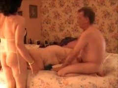 Amazing Homemade Shemale record with Threesome, Mature scenes