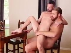 Experienced and hairy mature man with boy 2