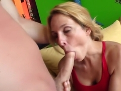 Crazy pornstar Angela Attison in amazing big tits, blonde adult video