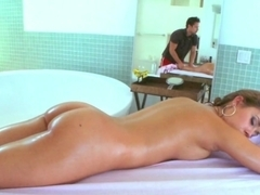 Best pornstar Ella Milano in Hottest Massage, Medium Tits porn video