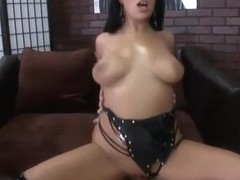 Beauteous breasty Angelica Raven is having a hard anal sex