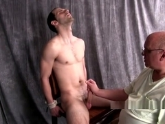 STHJ Ed-Straight Guy Edged by a Man