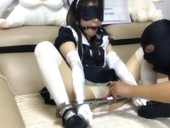 Chinese stocking bdsm