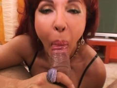 Horny pornstars Johnny Fender, Sexy Vanessa in Exotic Blowjob, Mature porn scene
