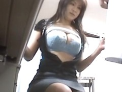 Asian gadget is getting hardly fucked on the clinic spy cam