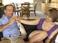 Sexy milf does not mind cheating on her husband, as long as she cums in the end