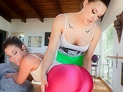 Chanel Preston & Sierra Sanders & Jada Stevens & Mazzaratie Monica in Tight Clothes And Ass #08 Mo.