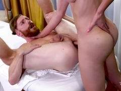 Sebastian Keys & Jonelle Brooks in A Raw Rubdown Ride - TransAngels