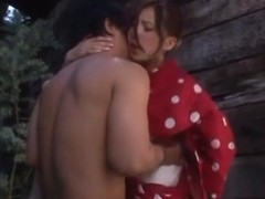 Rin Sakuragi naughty Asian babe in hot outdoor fucking