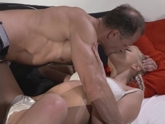 Amazing pornstars Katy Rose, George in Exotic Blonde, Romantic adult clip
