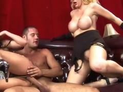 Aleksa Nicole, Courtney Taylor and Danny Mountain