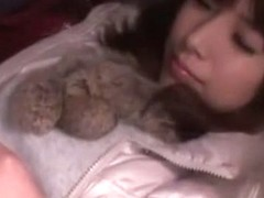 Horny Japanese whore Hinata Tachibana in Amazing Masturbation JAV video
